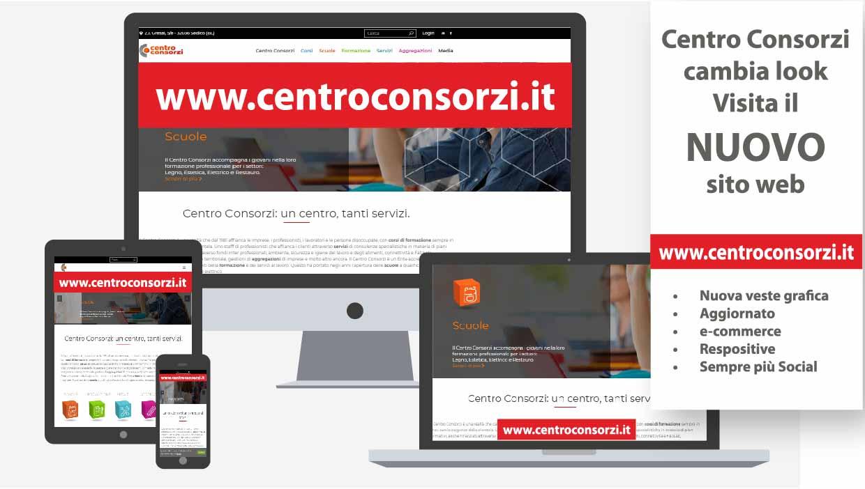 Nuovo sito web del Centro Consorzi di Belluno
